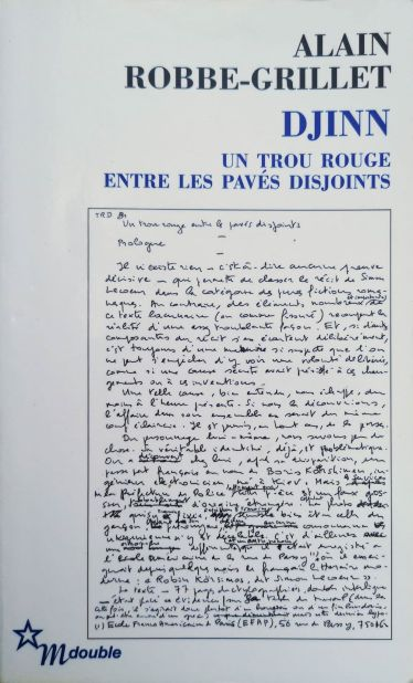 Djinn, Alain Robbe-Grillet 2
